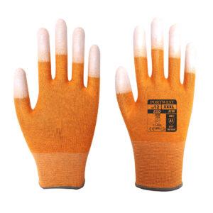 Rękawica antystatyczna z końcówkami palców powlekanymi PU