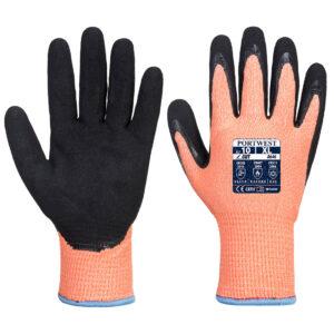 Antyprzecięciowa rękawica nitrylowa Vis-Tex Winter HR w wersji zimowej