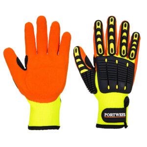 Rękawice chroniące przed uderzeniami
