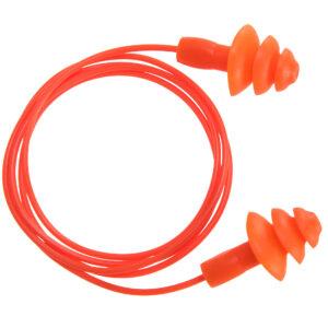 Zatyczki TPR wielokrotnego użytku ze sznurkiem (50 par)