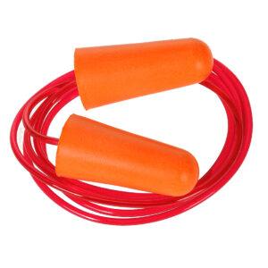 Zatyczka do uszu z pianki PU ze sznurkiem (200 par)
