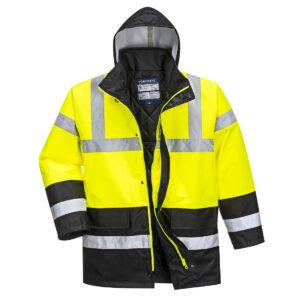 Kontrastowa kurtka ostrzegawcza Traffic