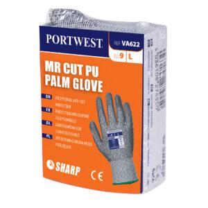 Rękawica antyprzecięciowa MR powlekana PU